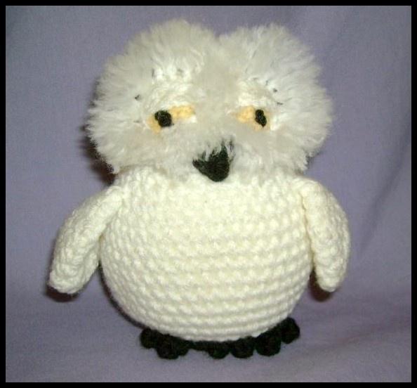 Snowy Owl - Crochet