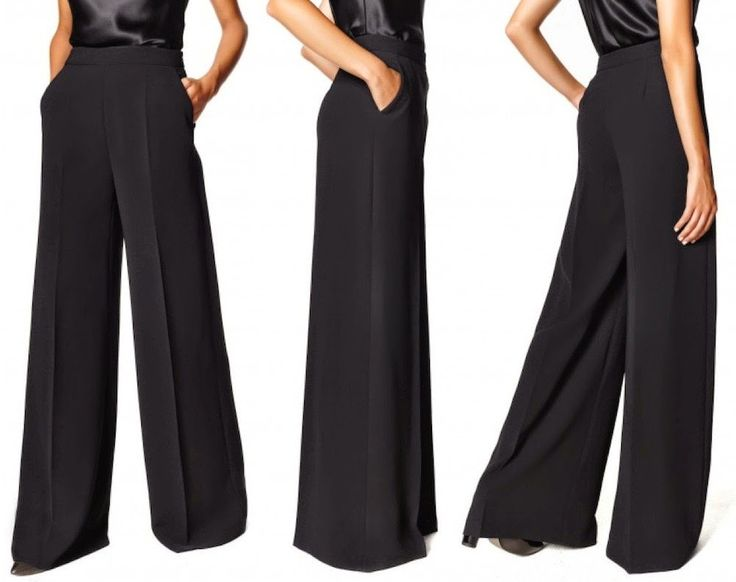 STITCH PATTERNS: HOW TO MAKE A PALAZZO TROUSERS