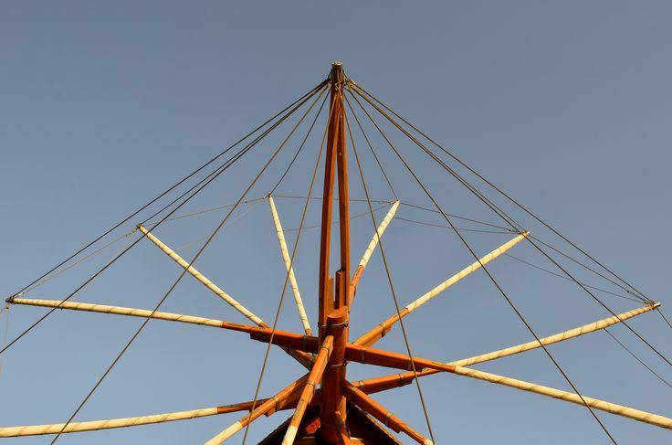 Detail windmill _ patmo island