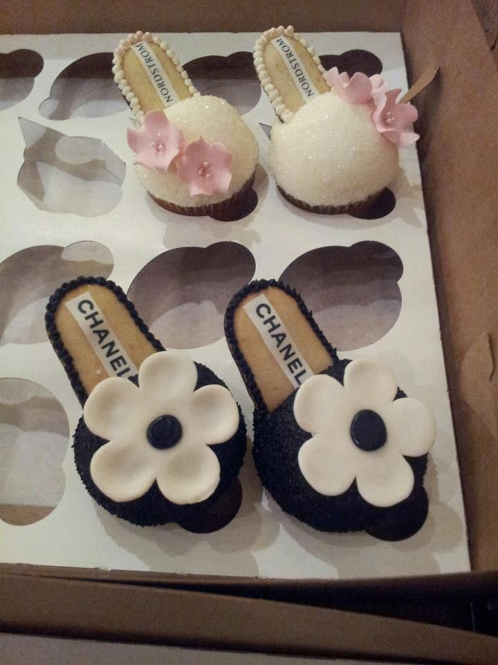 Shoe Cupcakes Cakes And Cupcakes Pinterest Shoes