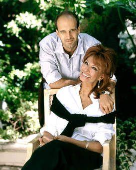 Sophia Loren and her son Edoardo Ponti.....Uploaded By www.1stand2ndtimearound.etsy.com