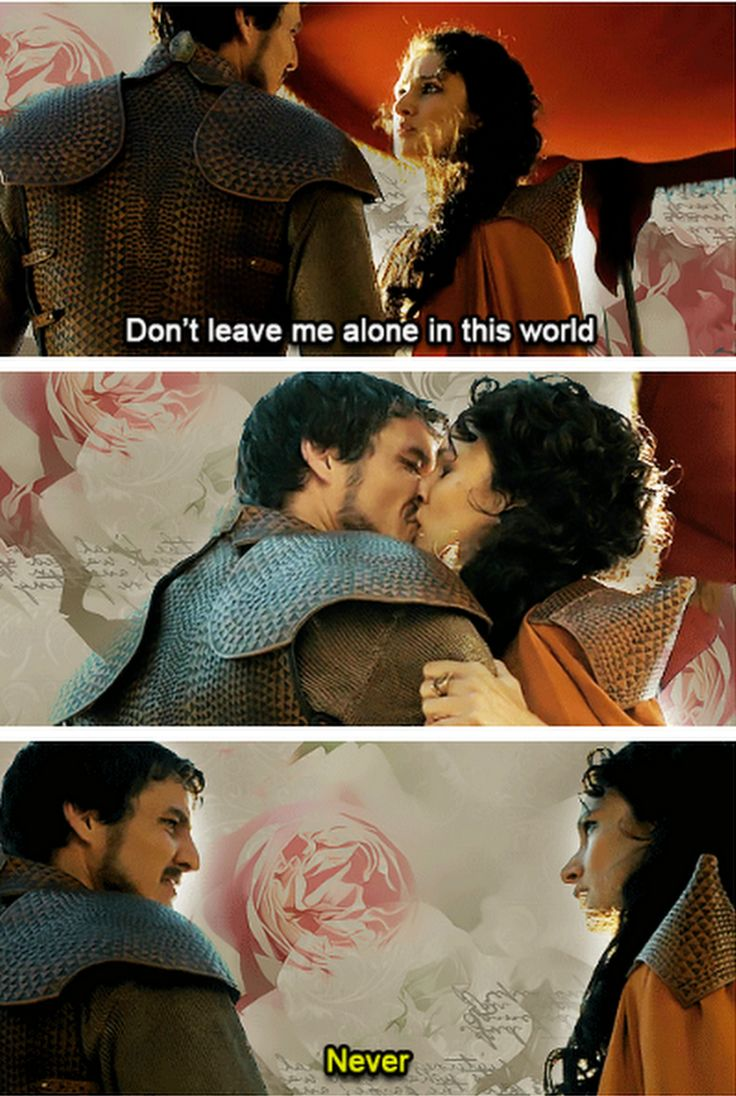 Oberyn Martell and Ellaria Sand, Game of Thrones (by paradisewitch)