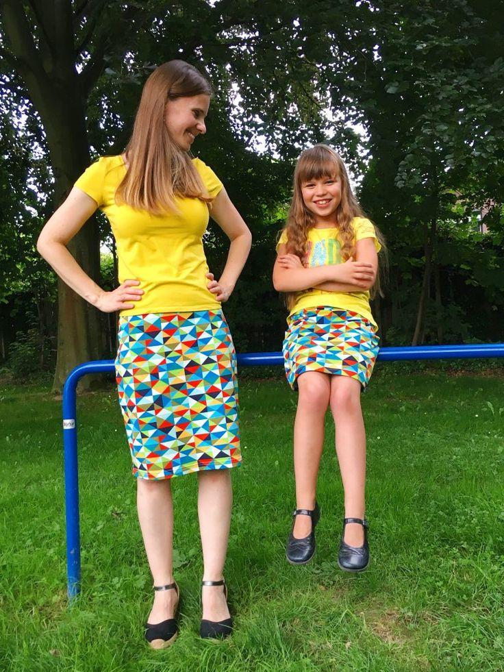 snelle rok patroon gemakkelijk op maat tekenen