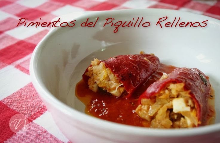 """Stuffed """"piquillo"""" peppers"""