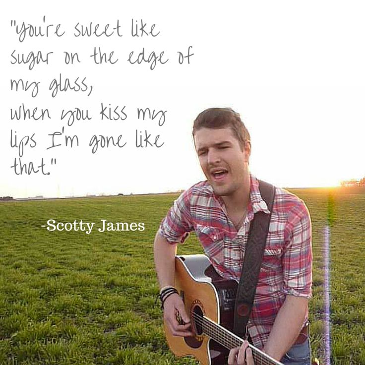 "Lyrics from song ""Nobody"" by Scotty James"