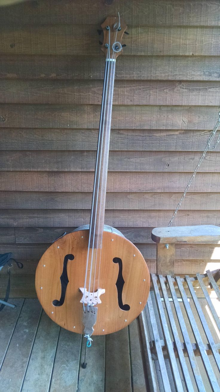 finished my new washtub upright bass music in 2019 bass guitar box guitar. Black Bedroom Furniture Sets. Home Design Ideas