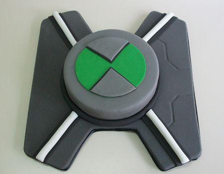 Torta de Ben 10 - Omnitrix