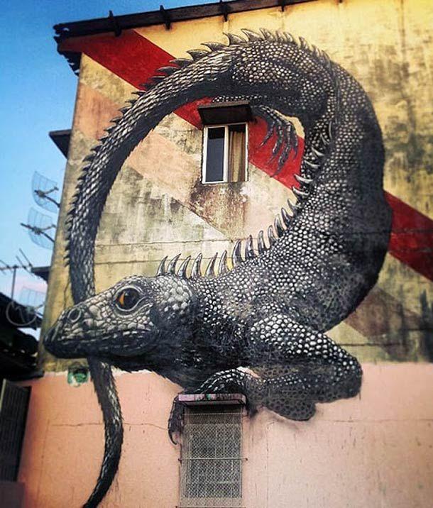 Street Art – 34 créations de ROA