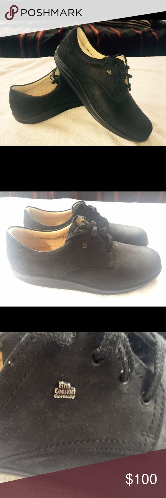 Finn Comfort nubuck shoes 6.5 Ergonomic oxford in nubuck. Used in excellent condition. finn comfort Shoes Oxfords & Derbys