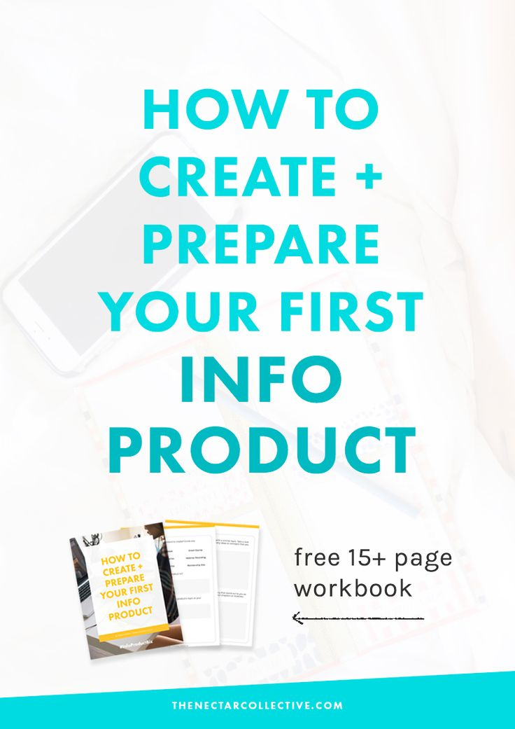 """Thinking about turning your passion + knowledge into a business? Check out Melyssa Griffin's fantastic new post on """"How to Create and Prepare Your First Info Product"""" --"""
