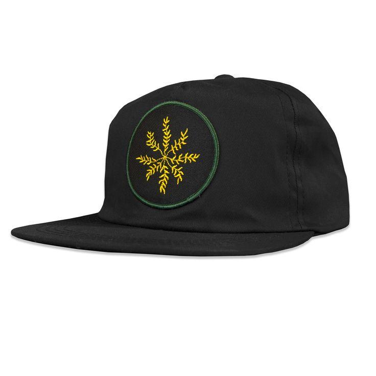 Creeping Leaves snapback hat