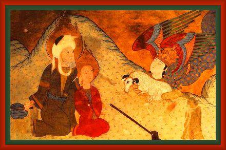 Abraham's Sacrifice Turkish 1583