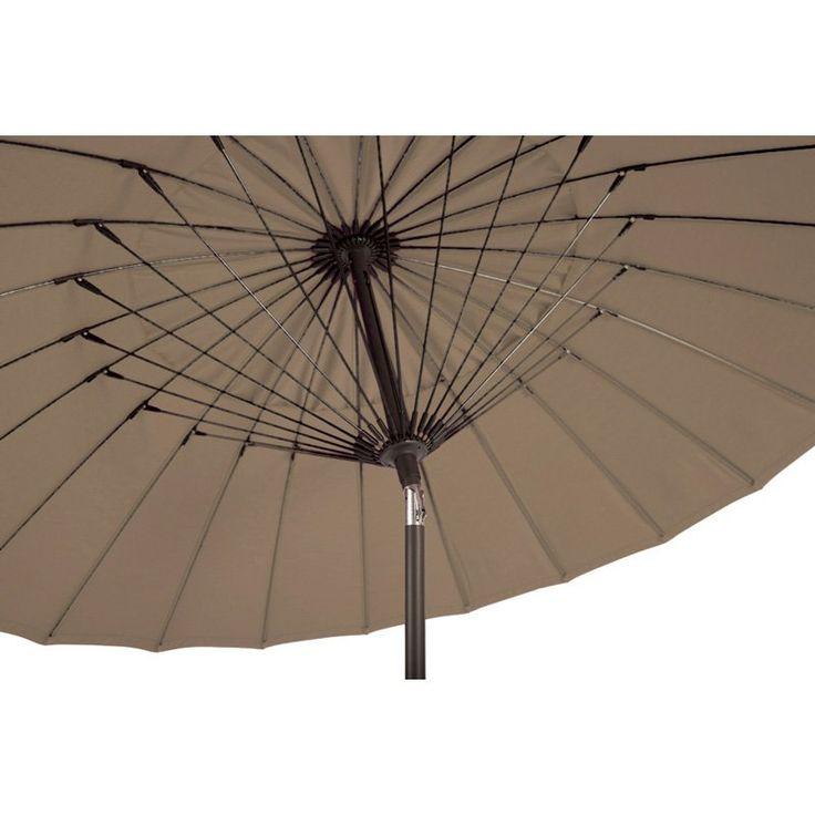 Amauri Balboa Breeze 8.5 ft. Fiberglass Sunbrella Umbrella Taupe - 62412-101-CS41205