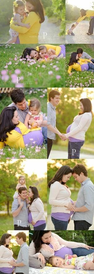 adorable maternity photos