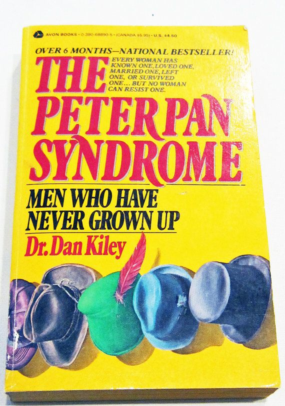RARE...The Peter Pan Syndrome by BookItVintage on Etsy, $19.99
