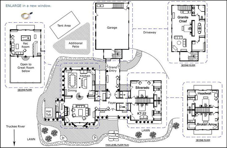 17 best images about home floorplans commercial for Bed and breakfast house plans