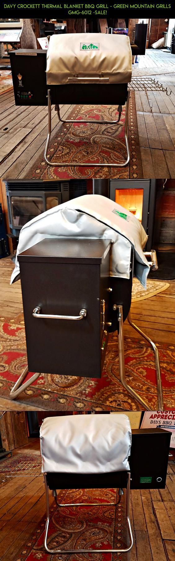 Davy Crockett Thermal Blanket BBQ Grill - Green Mountain Grills GMG-6012 -SALE! #fpv #davy #kit #green #crockett #tech #products #gadgets #grills #plans #mountain #drone #camera #technology #parts #shopping #racing