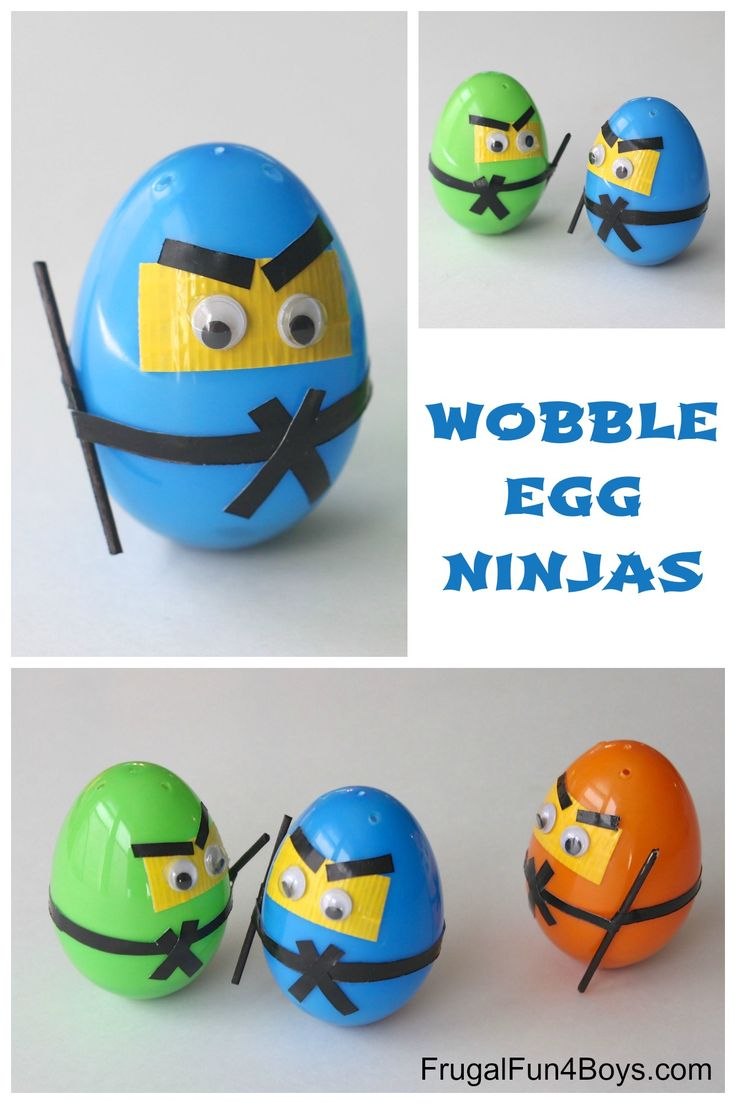 Ninja / Tutorial / Wobble egg ninjas