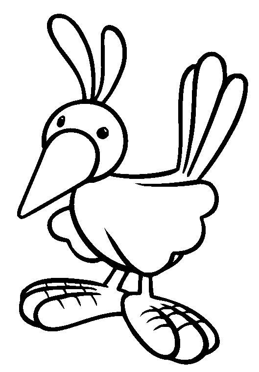 preschool bird coloring pages - photo#20