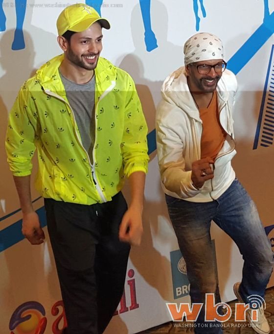 Krishna Chaturvedi and Jaaved Jaaferi - Soon after a new release date was announced for Ishq Forever, the debutante hero of the film Krishna Chaturvedi and his co-star Jaaved Jaaferi along with producer Shabeer Boxwala felicitated the winners of the BSE (Bombay Stock Exchange) Marathon: http://www.washingtonbanglaradio.com/content/krishna-and-jaaved-ishq-forever-felicitate-bse-marathon-winners  #ishqforever