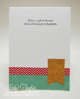 An Inside to my Heart...: Illuminate Blog Hop... #SparkleAndShineWashiTape - card inside