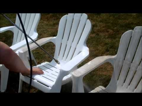 how to clean your outdoor plastic patio furniture in less than 2 minutes