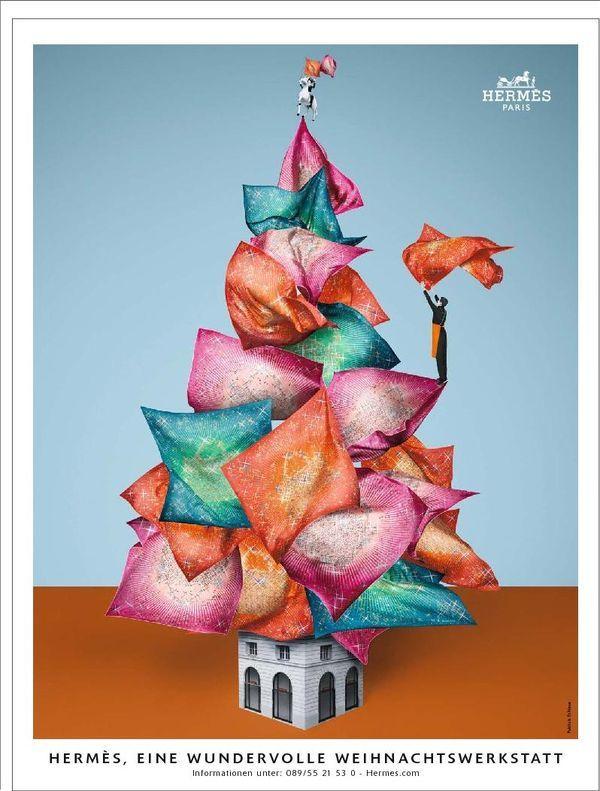 Hermès ad - Carré Magic Kelly by Dimitri Rybaltchenko