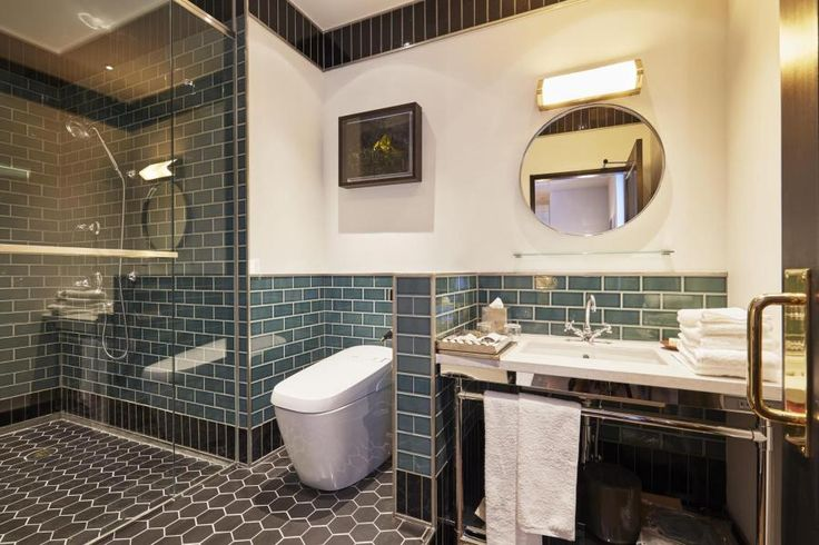 1R Serviced Apartment to Rent in Chiyoda-ku Bathroom