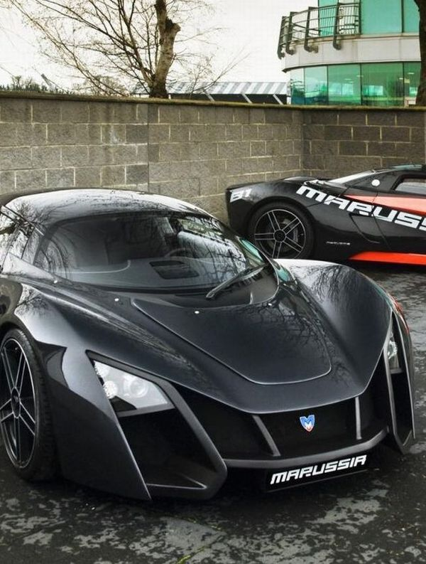 Attrayant First Russian Supercars: Marussia And