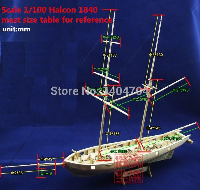 Продажа 1/100 Лазерной резки Деревянные модели Корабля Комплекты Halko 1840 западная Парус лодки DIY Научных Периодических Изданий Комплект (бесплатно 2 шт. баррелей) купить на AliExpress