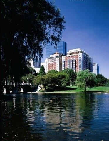 The taj hotel overlooking the boston public gardens - Hotels near boston public garden ...