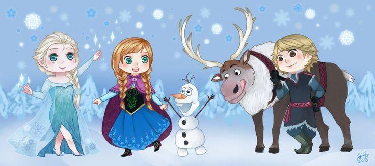 Frozen Characters | chibi | Pinterest | Frozen, Cute ...