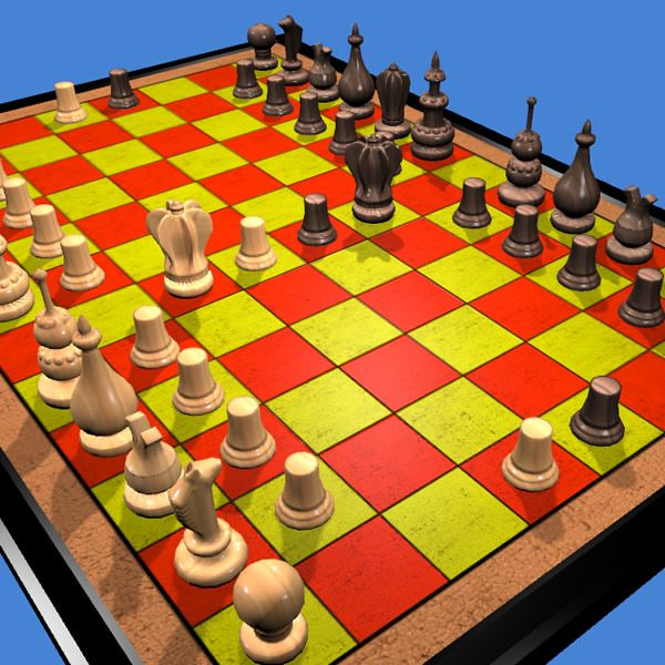 Play courier chess online 3D or 2D http://www.jocly.com/#/play/courier-chess