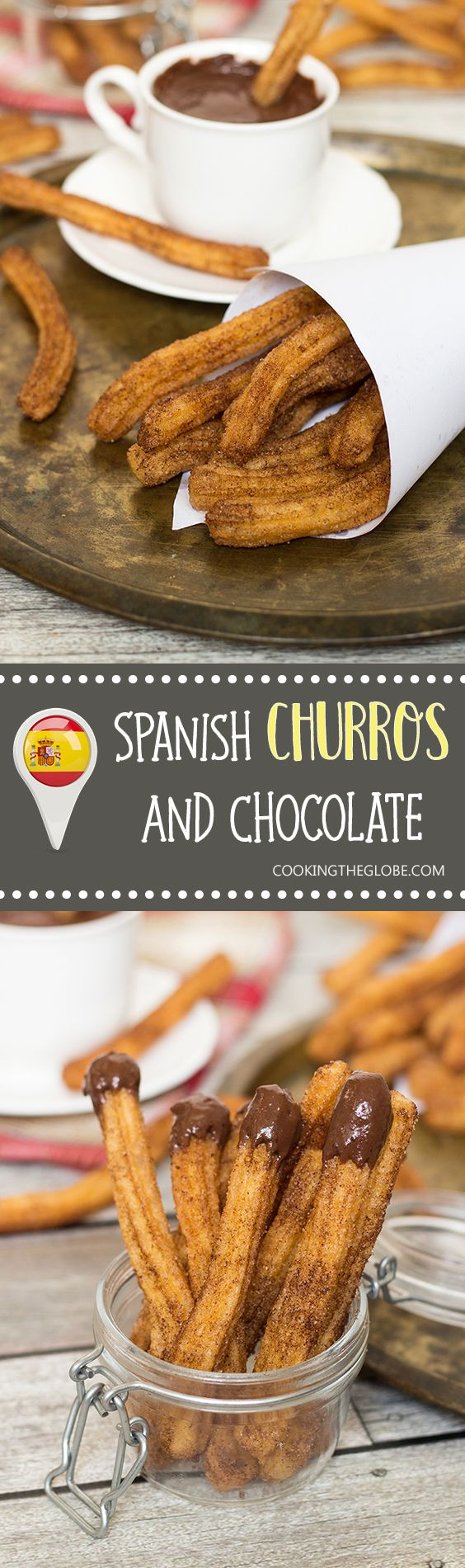 These Churros Con Chocolate are undeniable Spanish breakfast favorites. I can…