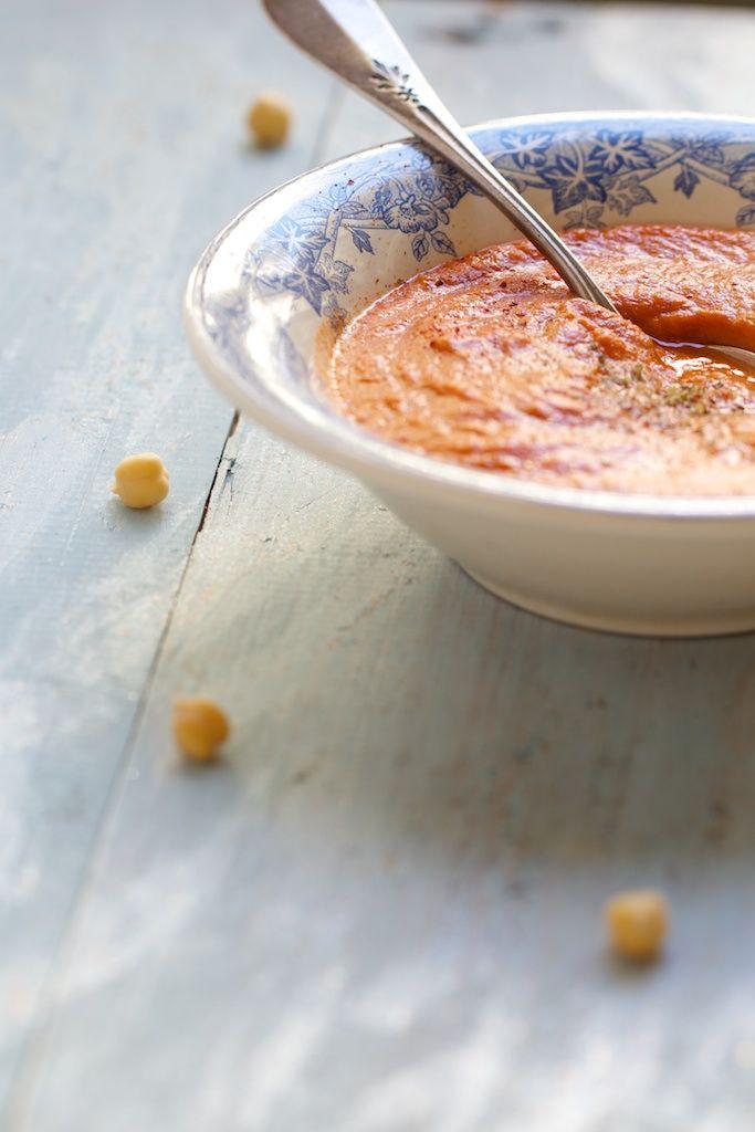 Chaudron pastel : {Potage crémeux tomates pois chiches} / naturopathie