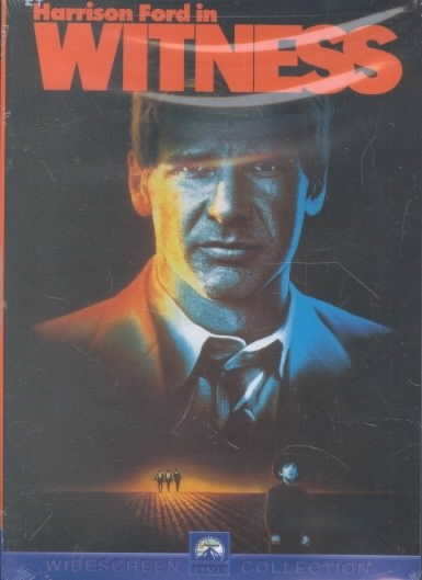 Witness [PN1997 .W58 1999] A young Amish boy is sole witness to a murder; policeman John Book goes into hiding in Amish country to protect him until the trial. Director:Peter Weir Writers:William Kelley (story), Pamela Wallace (story), Stars:Harrison Ford, Kelly McGillis, Josef Sommer
