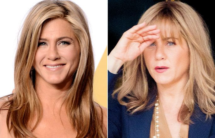jennifer aniston steps out with surprising new bangs