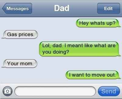 This jokester…