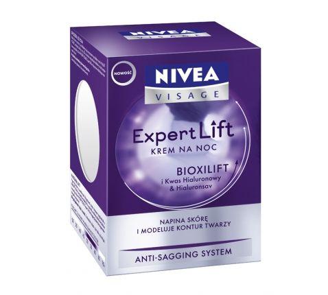 Nivea expert lift night