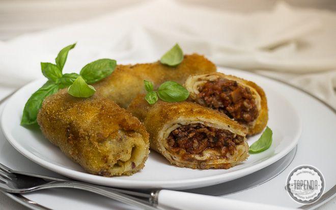 Krokiety z mięsem - przepis - Tapenda.pl
