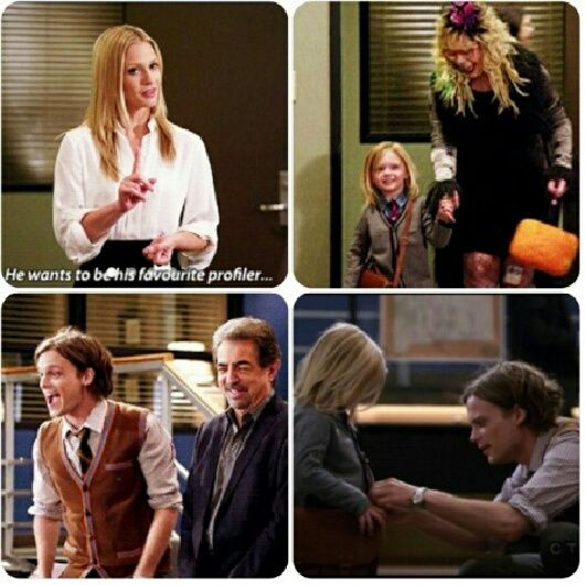 Cutest moment in Criminal Minds history!