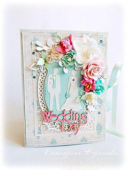 Купить или заказать БОЛЬШАЯ свадебная открытка 'МОЛОДОЖЕНЫ'. в интернет-магазине на Ярмарке Мастеров. Свадебная нежнейшая открытка для молодых и креативных пар! Станет достойным дополнением вашего денежного подарка на свадьбу или годовщину свадьбы. БОЛЬШАЯ! Размер 15 х 20 см. Изготовлена из потрясающей красоты бумаги из новой коллекции Tilda. Очень необычное, свежее сочетание белого, нежно-розового и бирюзового цвета! Открытка очень многослойная, ажурная, толстенькая и тяжеленькая.
