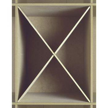 Werkhaus Shop - Werkbox Modul Einsatz - Kreuz