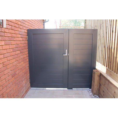 Arden Gates Aluminium Pedestrian Gate With side Panel - Arden Gates from Arden Gates Ltd UK