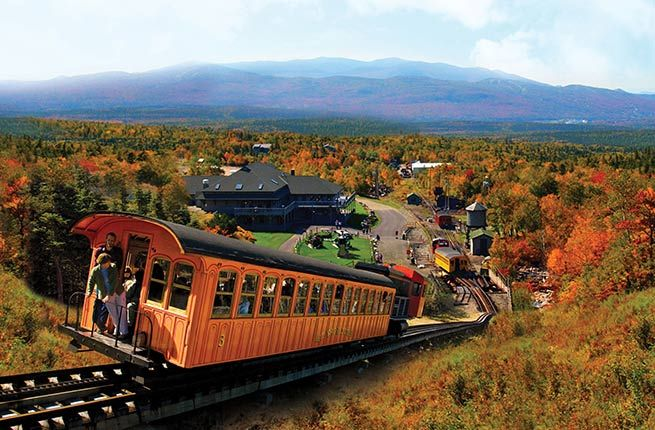 Mount Washington Cog Railway - 10 Best U.S. Train Trips to Take This Fall | Fodor's Travel