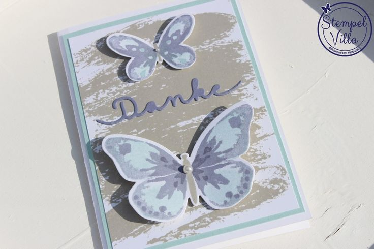 Stampin'Up! Watercolor Wings, Watercolor Wash