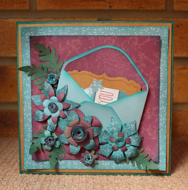 Card using Floristry Colour Bloom Collection, by Sue Smith for Craftwork Cards.