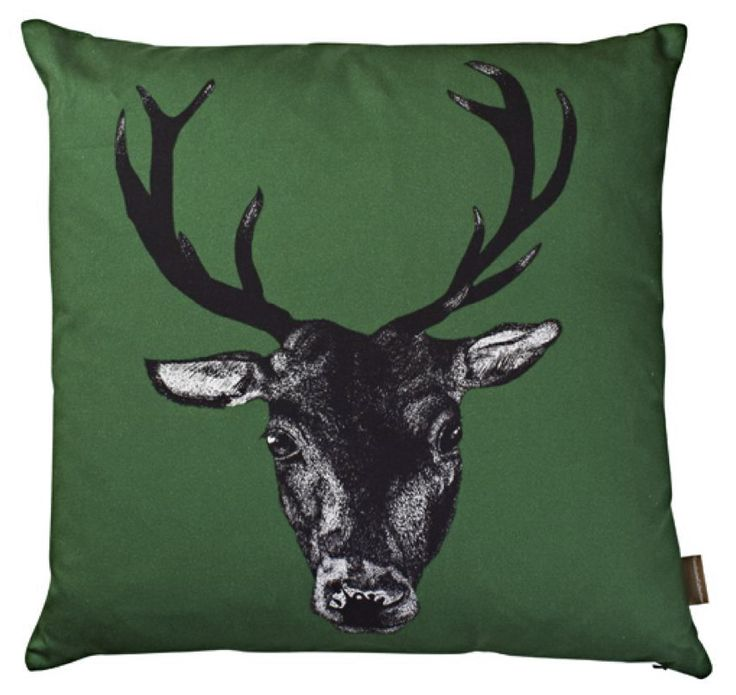 Set of 4 Stags with Different Background Colours