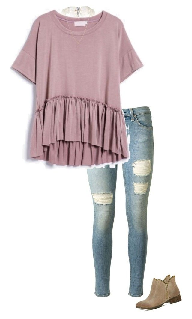 """this week feels so long"" by southerbelle549 ❤ liked on Polyvore featuring Free People, rag & bone, Sydney Evan and Jeffrey Campbell"