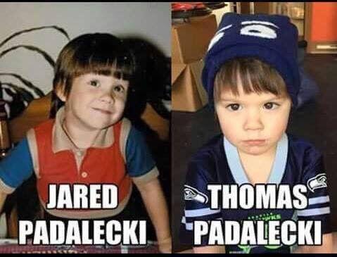 Jared Padalecki and Thomas Padalecki. I see no difference.